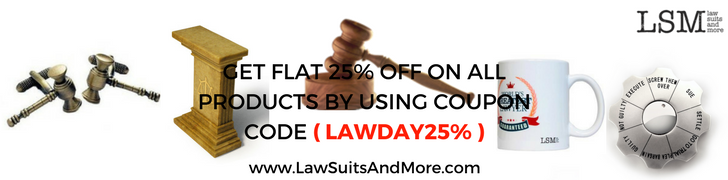 Law Suits and More Law Day Sale!