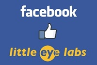 Facebook likes Little Eye