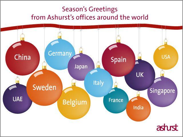 Christmas Greetings from Ashurst