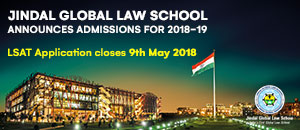 Jindal Global Law School: Admissions open for 2018-19 - Apply Now