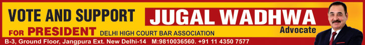 Vote and Support Jugal Wadhwa Advocate for President Delhi High Court Bar Association