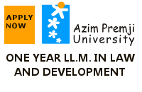 One year LLM in Law and Development