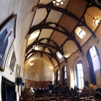 Dreaming spires, from inside