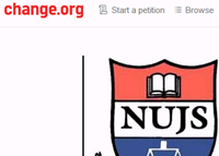 NUJS petition