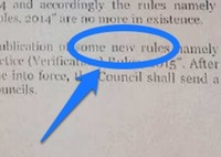 Behold: 'Some new rules' are coming...