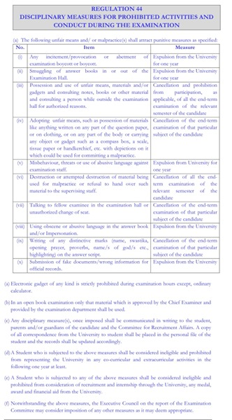 Regulation 44, before amendment (click to see full-size)