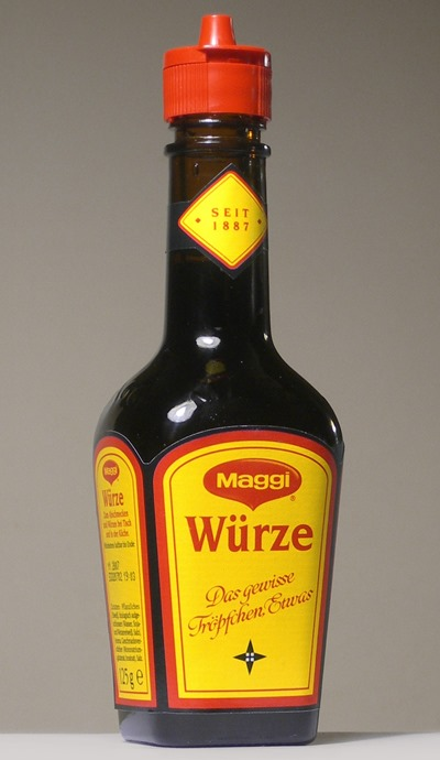 Did you know that Maggi's oldest & most popular product in Switzerland is basically MSG in a bottle?