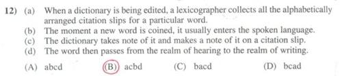 Clat 2014 question 12