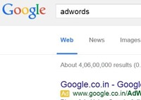 AdWords advertising Google AdWords: How meta