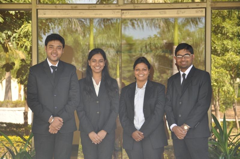 From left to right: Shaswat Shekhar, Srideepa Bhattacharya, Shivani Kanojiya, Arindam Bhattacharjee