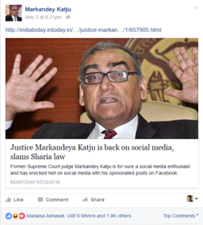 Markandey Kajtu: National treasure, social media guru to the masses or in need of a new hobby?