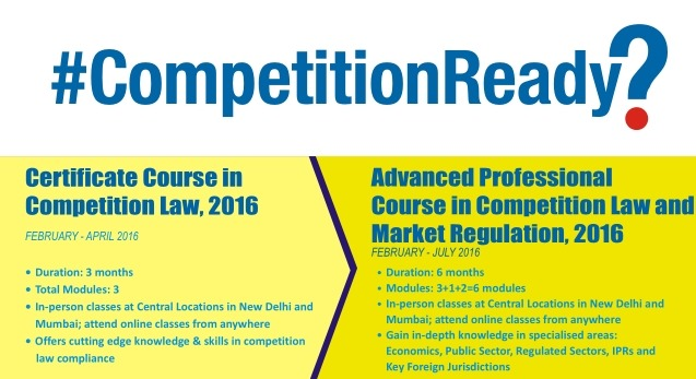 are you #competitionready? iica 6-month course in competition law ...