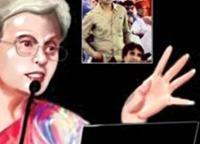 Mumbai Mirror report of proceedings and 'caricature'