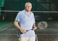 RamJet plays badminton