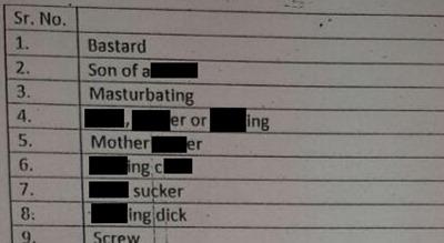 Caravan reveals list of words banned by censor board