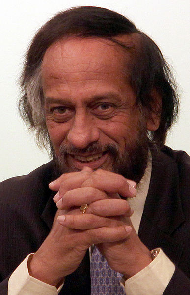 Pachauri claims victimhood