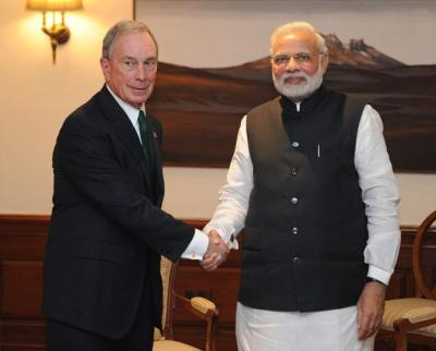 Modi likes foreigners (white guy: not a lawyer)