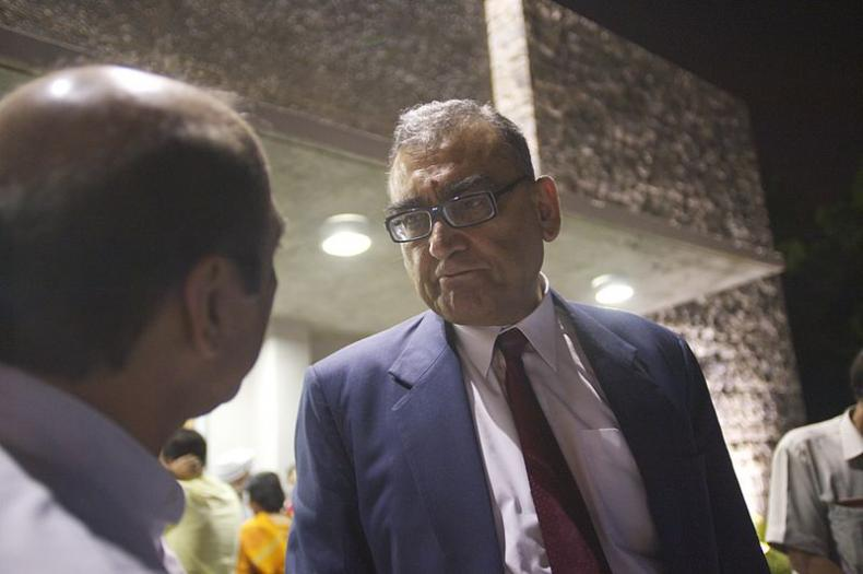 Katju meets his angry match, doesn't seem to like it...