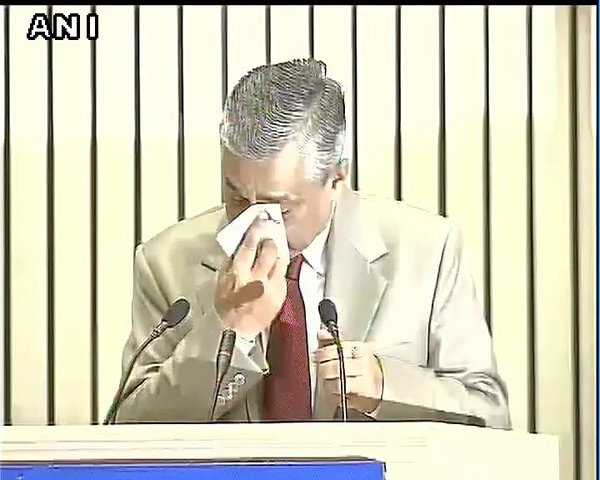 CJI Thakur delivers emotive speech (via ANI: CJI TS Thakur breaks down in front PM Modi, stresses need for more judges)