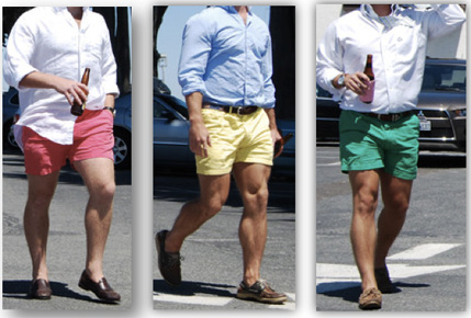 Shorts: A regrettable fashion choice?