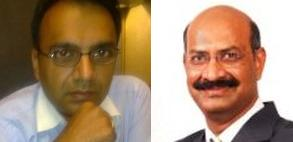 Chawla (l) and Raju to leave