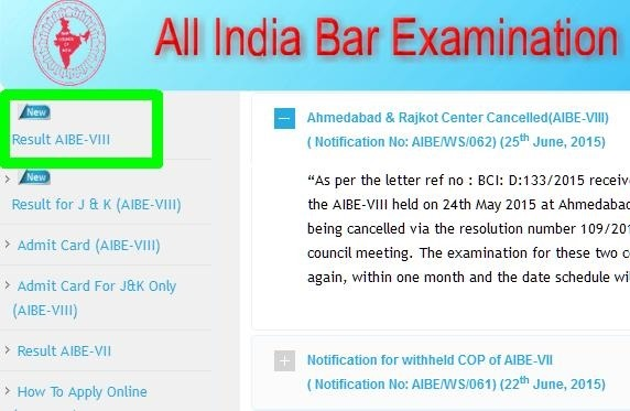 AIBE: delayed on schedule