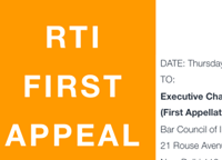 How to reject RTIs and alienate lawyers