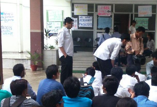 NLU JAA protests Friday: Demands not met