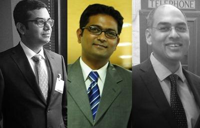 Phoenix grows to : Tadakamalla, Kartikeya Singh, Ojha (l to r)