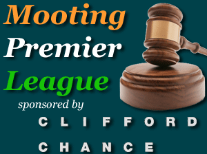 Mooting Premier League sponsored by Clifford Chance