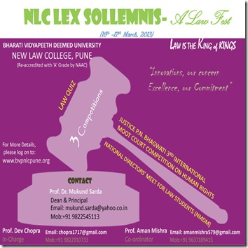 BVDU Lex Sollemnis: A different law festival