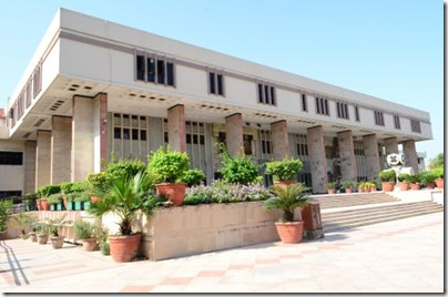Will big-case district courts leave Delhi HC deserted? (image courtesy of Delhi HC website)