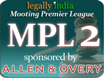 Mooting Premier League 2010-11 - MPL2