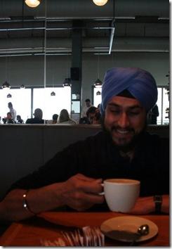 Sarna: Finding his medium