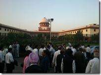 Supreme Court Crowd