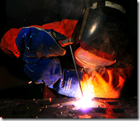 Welding two firms