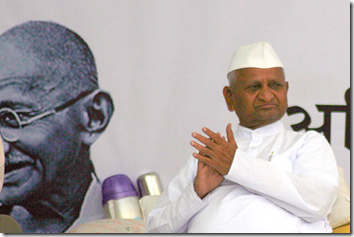 Hazare fast turns Delhi into no-go zones