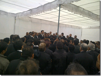 @DKMahant: 'All lawyers ridiculing the judgement by Supreme Court in SCBA matter. Heated exchange.' (Photo: @DKMahant)