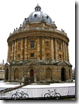 The Radcliffe Camera is a cold, cold place in winter