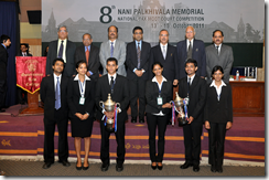 Nani Palkhivala winners NLSIU, runners up RMLNLU