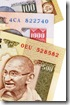 Indian Rupee currency bills (XL)