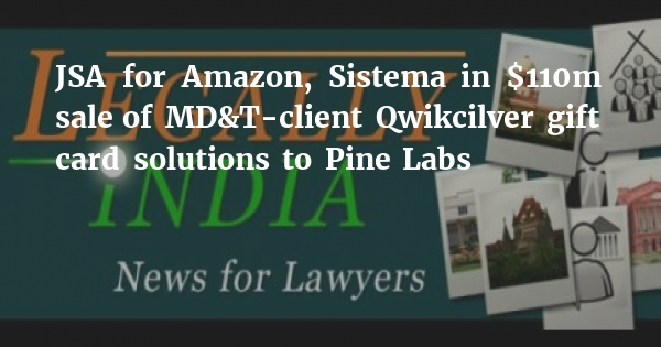JSA for Amazon, Sistema in $110m sale of MD&T-client