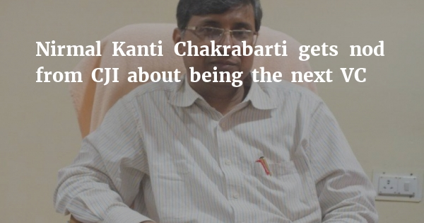 First proper NUJS VC in 15 months to be NK Chakrabarti from KIIT
