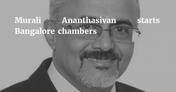 JSA Bangalore partner Murali Ananthasivan starts independent