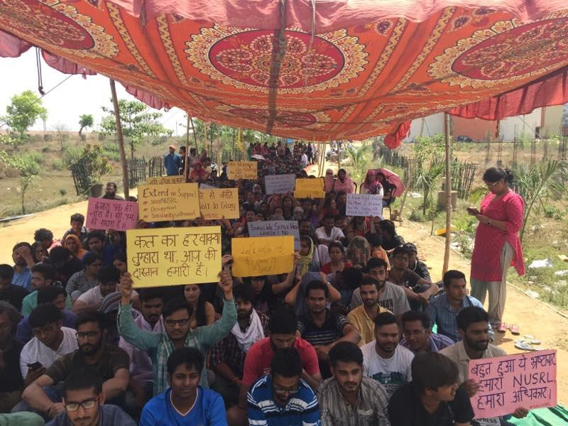 Students win unlikely victory for transparency and improved administration at NUSRL after 4 days of harrowing protests