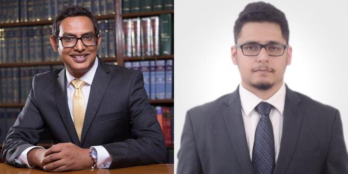 Chandra (l) and Sharma (r) join K Law partnership rungs