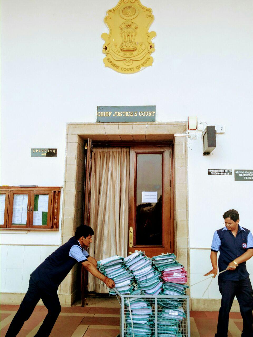 Supreme Court ready to go paperless? Not yet