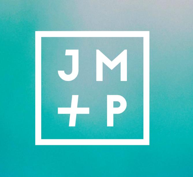 The new JM + P logo