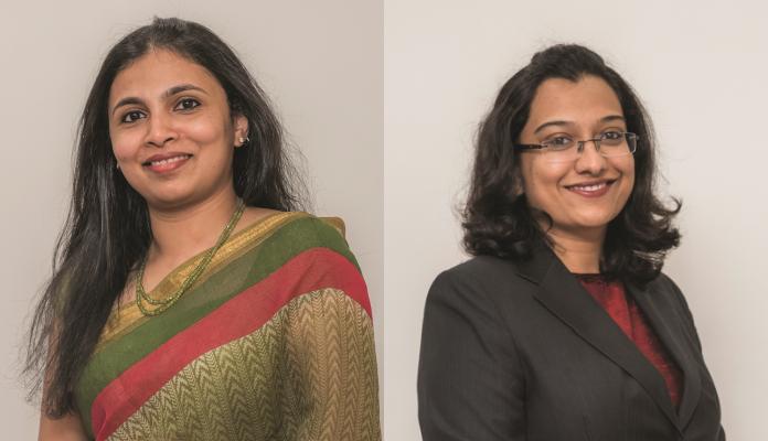 Maheshwari Sundaresh & Reeba Chacko