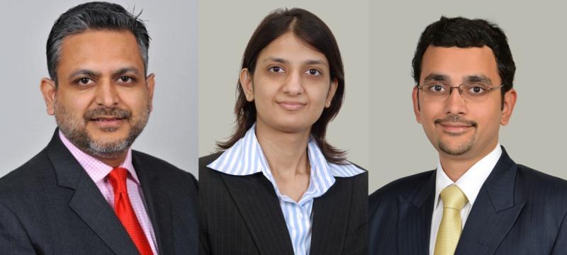 Rabindra Jhunjhunwala (partner), Surbhi Kejriwal (associate partner), Pranay Bagdi (senior associate)